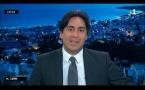 Jérémy Morel, parrain de l'Association 1000 Sourires au JT de Réunion la 1ère