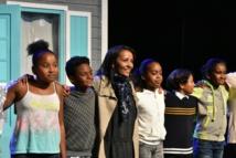 <center>Marie-Alice Sinaman invite les marmailles <br>  dans les coulisses de son nouveau spectacle