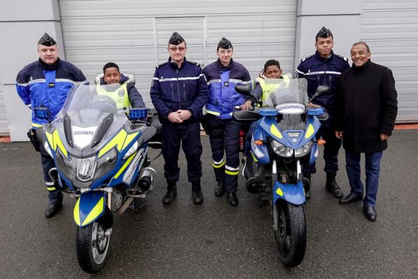 """<center>""""Un Incroyable Noël...."""" <br>Jour  6 : Une dernière journée à 250 à l'heure avec les gendarmes et au Parc des Princes"""