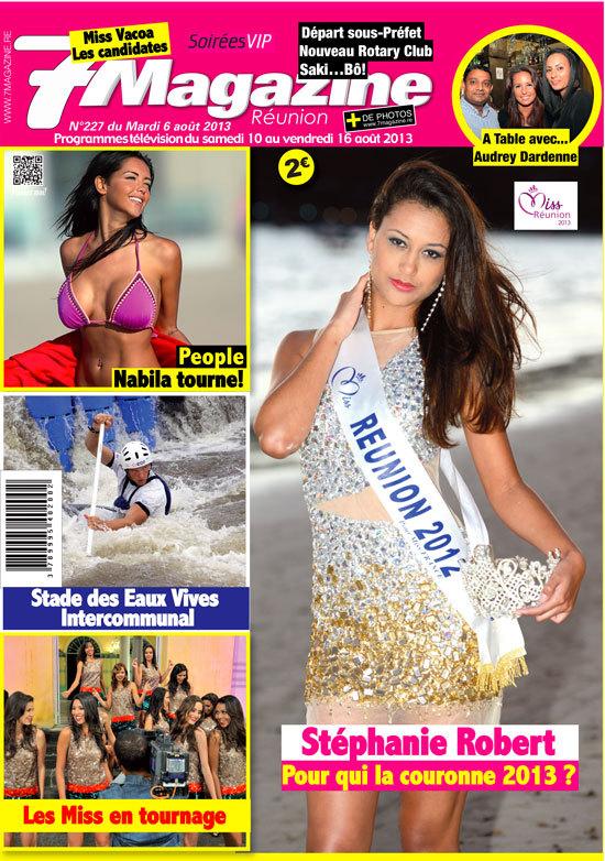 <center>Stéphanie Robert,  Miss Réunion 2012 <br>Marraine de 1000 Sourires
