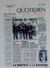 <center>Les marmailles dans les coulisses <br> du journal le Quotidien