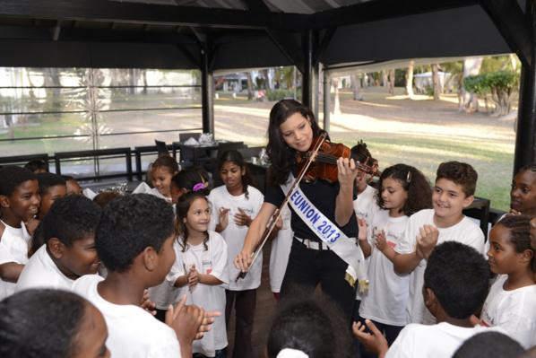 Miss Réunion 2013, le sacre de Vanille M'Doihoma - Saint-Denis, 17 Août 2013