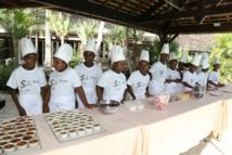 <center> Les p'tits chefs  de 1000 Sourires<br>  découvrent le Lux* Ile de la Réunion