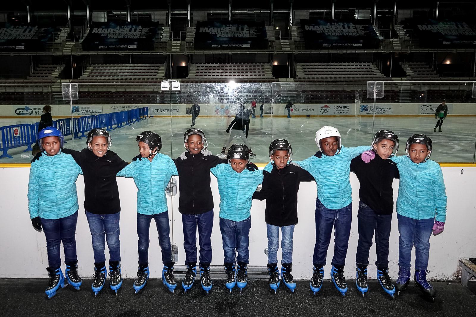 """<center>""""S'envoler vers le Rêve ...""""  <br> Jour 6 : Gourmandises et patins à glace, à Marseille"""