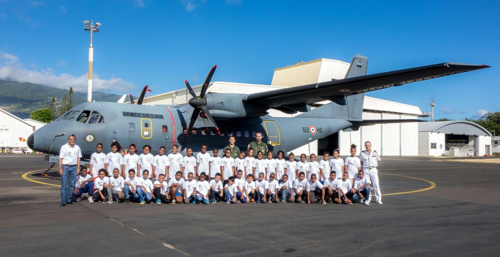 <center>Journée citoyenne au Détachement Air 181<br> pour les VIM de Grande Fontaine