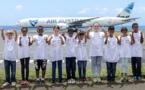 <center>Les enfants de Fleurimont en VIM <br> dans les coulisses de l'Aéroport Roland Garros