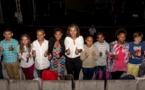 <center>Les marmailles invités d'honneur <br> de Marie-Alice Sinamanau TPA