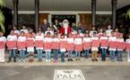 <center>Noël magique au Palm Hôtel & Spa <br>pour les marmailles de Bac Rouge