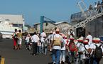 Noël 2007, 1000 Sourires en mer … avec RFO-Télé Réunion