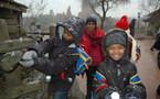 """Carnet de Voyage : """"S'envoler vers le Rêve ... """" : Disneyland sous la neige ..."""