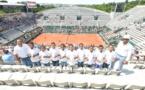 """<center> Jour  12 : """"S'envoler vers le Rêve ...""""  <br>  Journée des enfants de Roland Garros ..."""