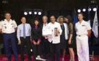 <center>Ibrahim Ingar, <br> Président de l'Association 1000 Sourires, <br> lauréat du Prix Départemental du Mérite 2017