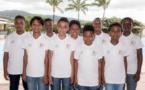 De gauche à droite : Yannick, Enzo, Mérouane, Mathéo, Anthony, Samuel, Curtis, Allan et Krys