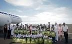 Un Noël inoubliable pour les VIM de 1000 Sourires  à bord des aéronefs de la base aérienne 181 et du Boeing 777 d'Air France