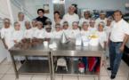 <center>Matinée givrée <br> à La Magie Des Glaces  <br> pour les marmailles de 1000 Sourires