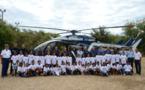 <center> Rêve et sensations fortes  pour les VIM <br> de 1000 Sourires invités par la Gendarmerie