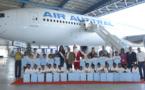 Un Noël magique à Air Austral pour les marmailles de Barrage