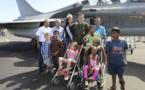 <center>1000 Sourires  réalise le rêve de <BR> 7 enfants handicapés