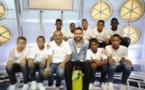 <center>Les petits Saint-Paulois invités <br>à l'émission Télé foot