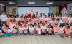 Un Noël citoyen avec le 2e RPIMA pour les Very Important marmailles de l'Eperon