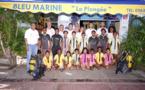 <center>Baptême de plongée sous-marine <br>pour une vingtaine de VIM de Savannah