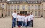 """<center> Jour 16 : """"S'envoler vers le Rêve  ... """" : <br>Un petit tour par le Palais de l'Elysée"""